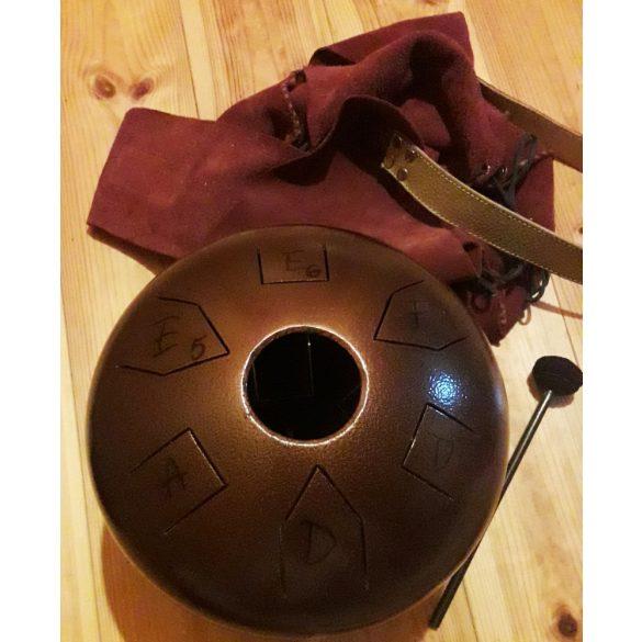 Tank Drum / Dallamdob DUPLA ütőfelület!! (13 hang, kiegészítőkkel) Tongue Drum