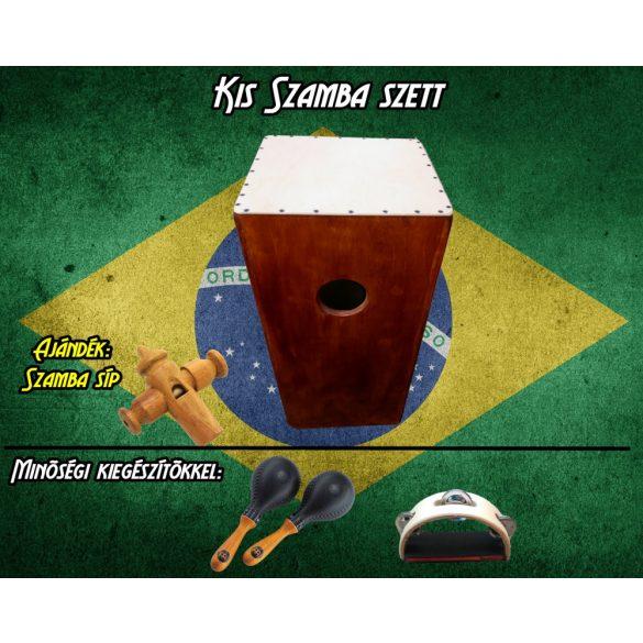 Kis Szamba Szett (1db Kongacajon + Tradicionális kiegészítők)
